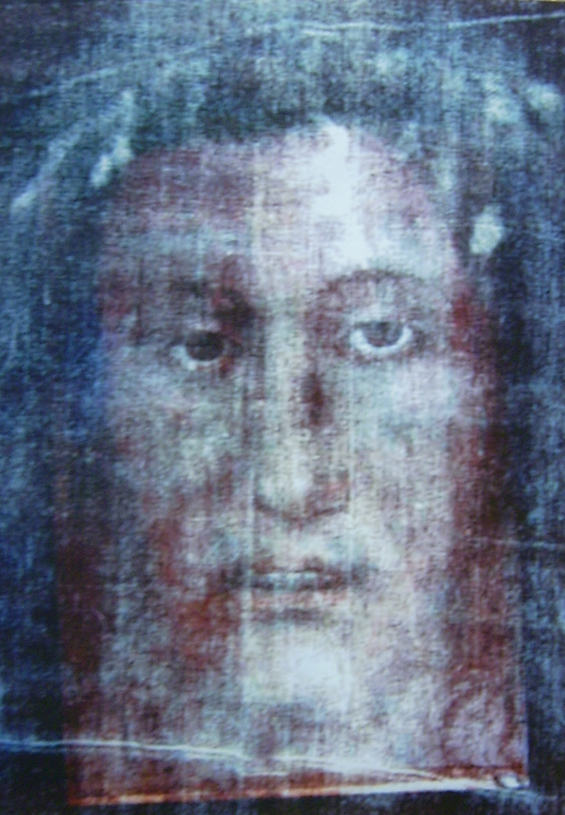 Recently in Italy a scientist has reproduced the SHROUD OF TURIN ...