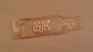 Peter Popoff's Miracle Spring Water