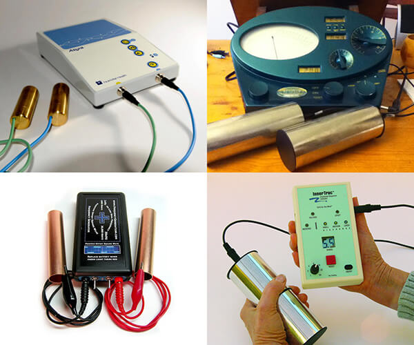 Four electronic Zapper machines